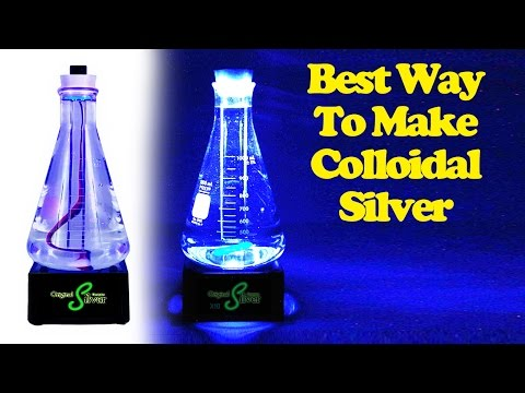 Best Colloidal Silver - Faster, Better, Less Expensive