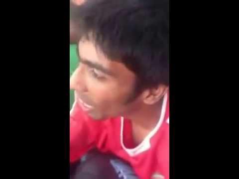 India guy singing Baddest Boy by EME