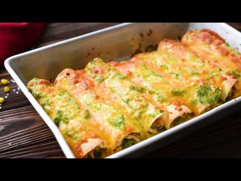 Fast and Healthy Chicken Enchilada Recipe
