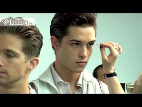 Ermenegildo Zegna Backstage ft Ryan Burns - Milan Men's Fashion Week Spring 2012 | FashionTV - FTV