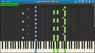 Khachaturian - Sabre Dance piano. (Synthesia)