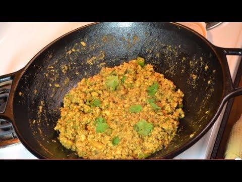 mughlai chicken keema recipe by sanjeev