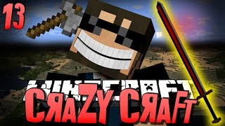 Minecraft CRAZY CRAFT 13 - THE BIG BERTHA (Minecraft Mod Survival)