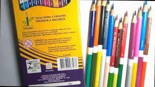 Lápis de cor -  Faber X Faber(duocolor-multicolor)