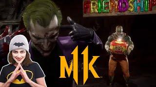 Reaction to Mortal Kombat 11 - Official Joker Gameplay Trailer