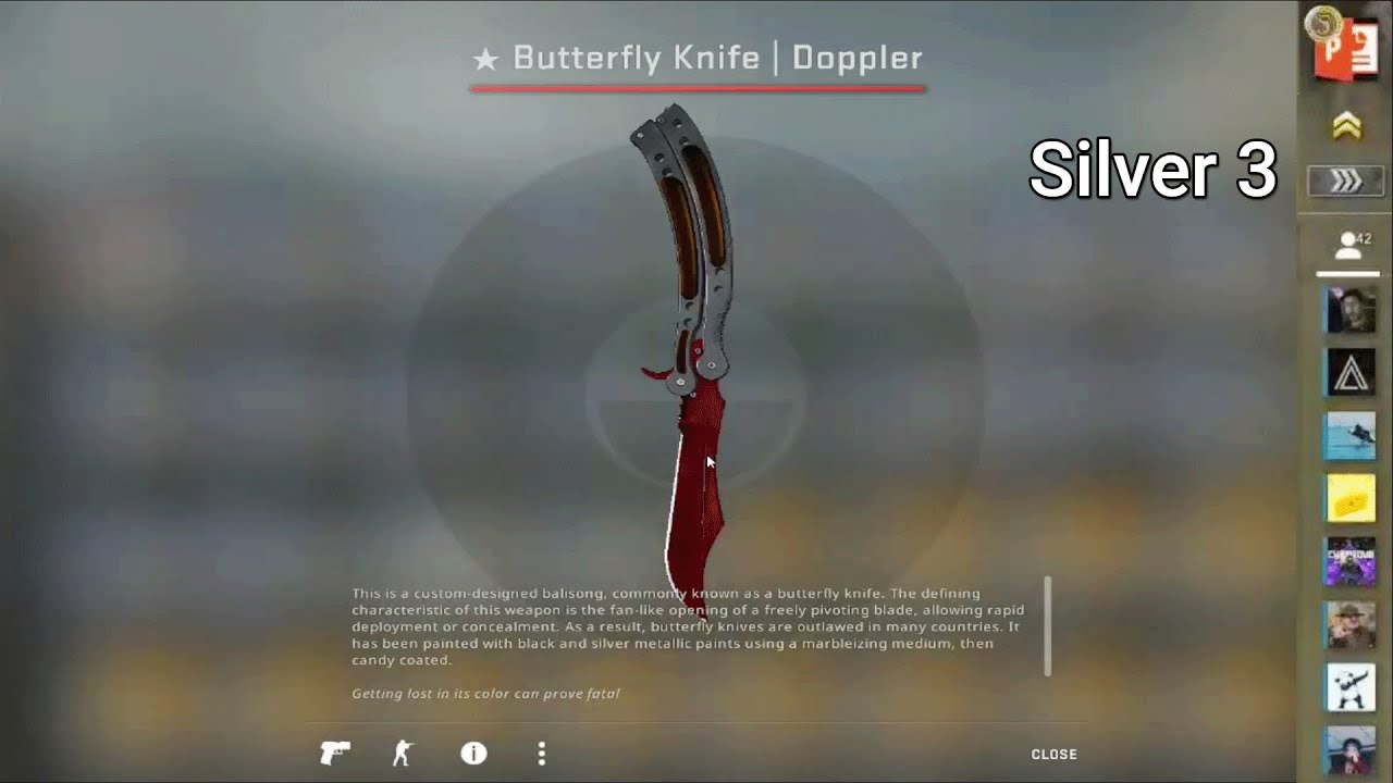 Silver 3 Unboxes One Of The Most Expensive Knives In CS:GO...