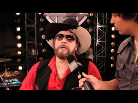 Orlando LIVE - Hank Williams Jr. Interview for Monday Night Football
