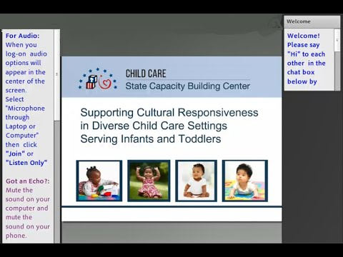 Supporting Cultural Responsiveness In Diverse Child Care Settings Serving Infants, Toddlers And Thei