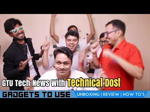 Technical Dost Hijacked GTU News #6, Jio 5 GB Daily, Honor 7X Face Unlock, Vivo Display Touch Sensor