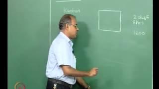 Mod-01 Lec-28 Basic elements of JIT, Kanban systems