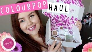 Colourpop Haul! ♡ Highlighters, Blushes, Lippies & Shadows