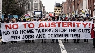 LIVE: Anti-austerity protesters to rally in Manchester