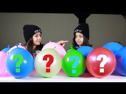 تحدي لا تختار بالون السلايم الخاطىء  |  Don't choose The Wrong Balloon Slime Challenge