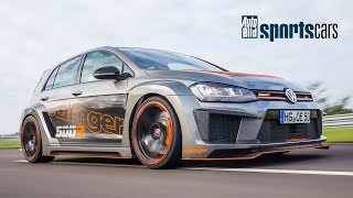 SUPERTEST: Fünfzylinder-Power im Oettinger Golf 500R! /0-200 km/h/Track-POV - AUTO BILD SPORTSCARS