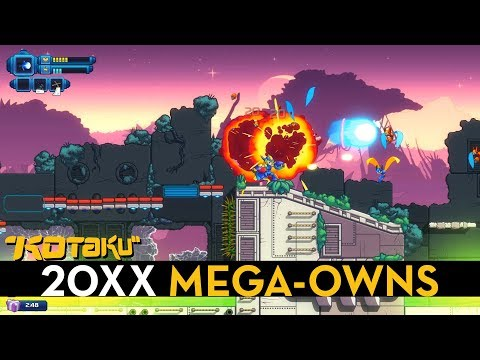 20XX is a procedural Mega Man X, and it owns