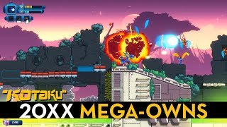 20XX is a procedural Mega Man X, and it owns