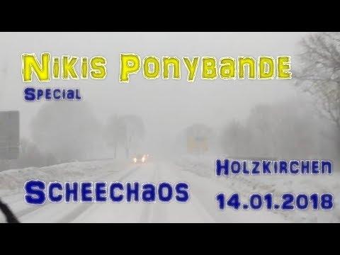 Nikis-Ponybande: Scheechaos im Oberland - Holzkirchen - 14. Januar 2019