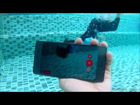 Sony Xperia X Performance  -  Water proof test