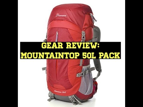 Gear Review: Mountaintop 50L Pack