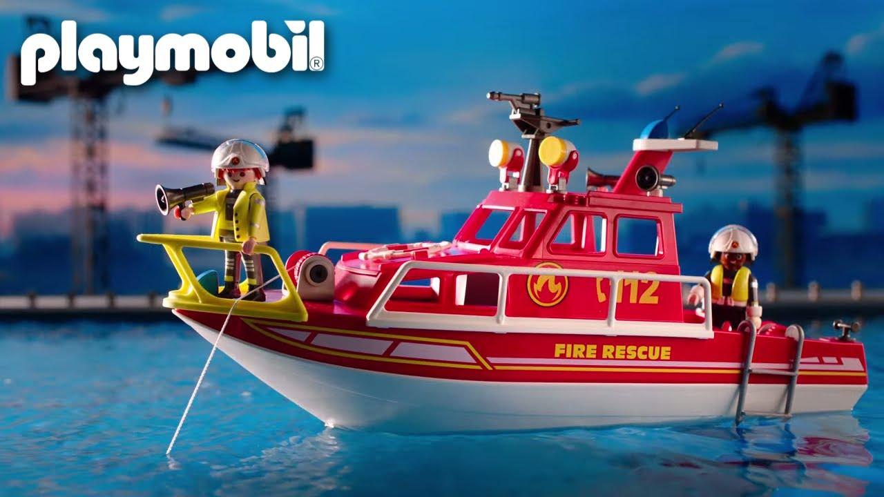 Feuerlöschboot | TV Spot | PLAYMOBIL
