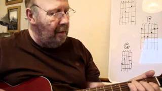 guitar chat 2 HOW TO EASY ELDERLY RETIRED RICKSTEA NOVICE CFG CHORDS BY A REAL NOVICE