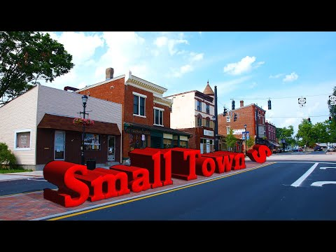 Top 10 BEST TOWNS To Live In The United States