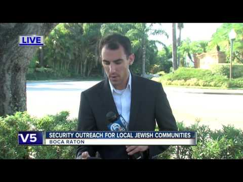 Security outreach for local Jewish communities in Boca Raton