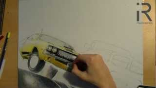 drawing a Dodge Challenger R/T & Dodge RAM (Driver San Francisco)