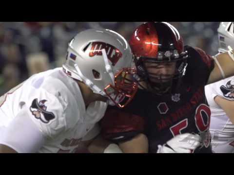 2016 San Diego State vs UNLV Football Highlights