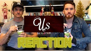 Us - Official Trailer REACTION!!!!