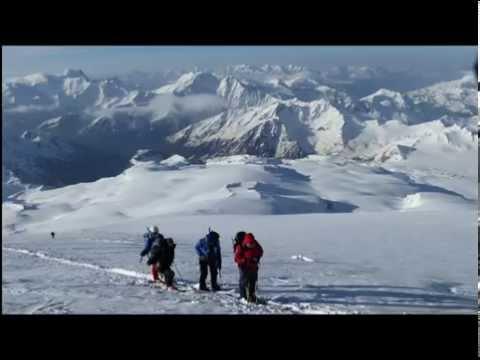 Skibesteigung Elbrus, 5642 m Europas höchster Berg als Skitour