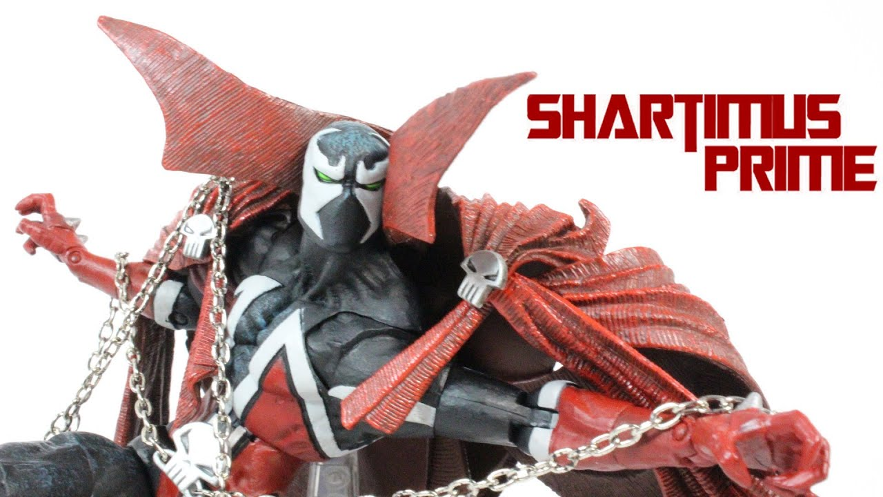 Spawn 10th Anniversary Mcfarlane Toys Articulated Action Figure Review Youtube