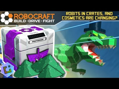 Robocraft - Robits in Crates, and Cosmetics are changing?