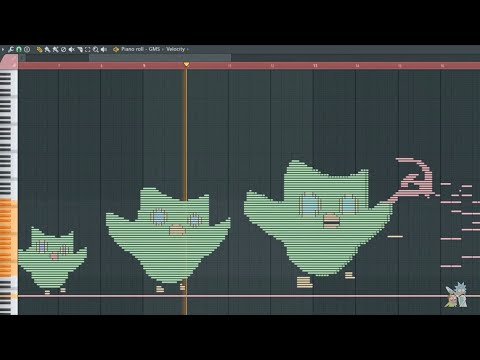 Evolution Of Duolingo Owl - MIDI Art