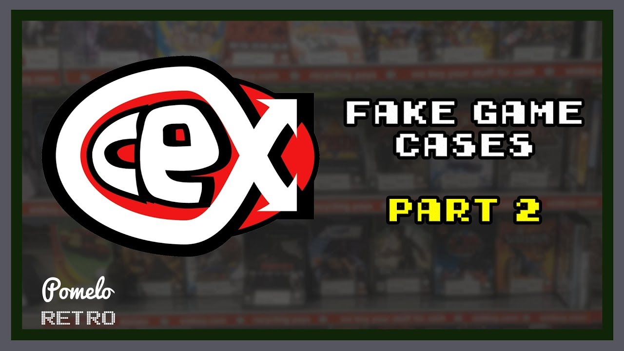 Investigation into CEX printing fake game cases — Pomelo
