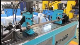 Станок для формовки труб AMOB MB в специсполнении для формовки квадратных труб(, 2014-10-18T14:28:06.000Z)