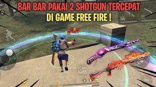 Download BANTAI SQUAD MUSUH DENGAN CEPAT PAKAI 2 SHOTGUN TERCEPAT DI FREE FIRE ! - FREE FIRE BATTLEGROUND