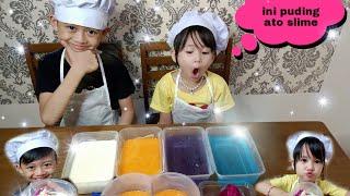 Masak-masakan Yang Bisa Di Makan   Anak Bocah Masak Puding