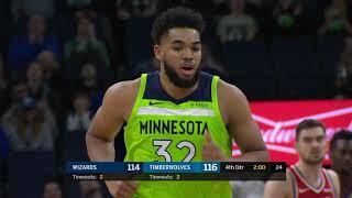 Washington Wizards vs Minnesota Timberwolves : March 9, 2019