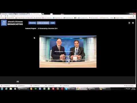How to download videos from tv jw org using Chrome