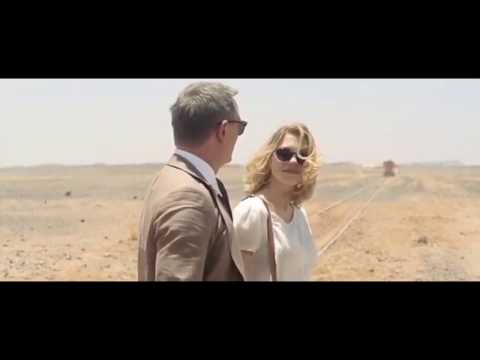 Spectre 2015- Morocco scene- Bond in Brown Brunello Cucinelli