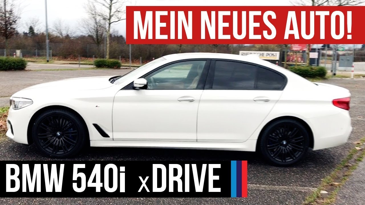 mein neues auto bmw 540i xdrive 340ps 2018 m paket. Black Bedroom Furniture Sets. Home Design Ideas