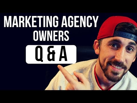Social Media Marketing Agency Q & A for Owners + Mentorship Giveaway