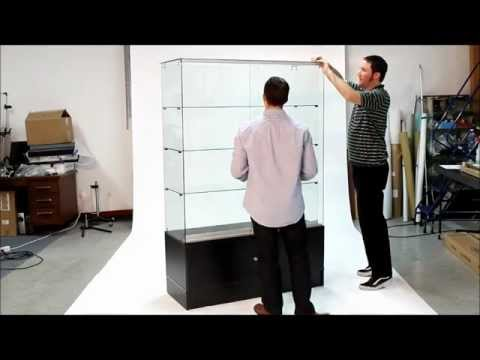 FRCHVW Series Display Case Assembly Video