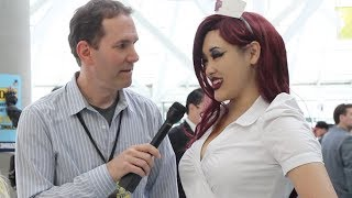 MORE Awkward Interviews with Cosplay Girls at ComiKaze 2013