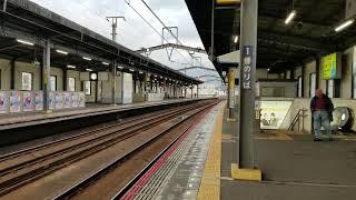 JR四国8600系 特急いしづち多度津行き 丸亀発車