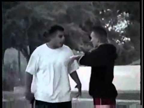 Hero Skater Defeats Armed Gang Member - Shots Fired