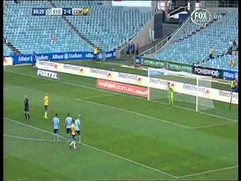 Mitchell Duke Missed Penalty Sydney FC Vs Central Coast Mariners
