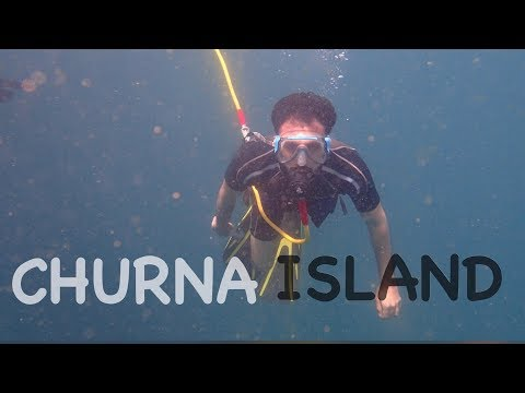 30 FEET UNDER THE SEA | CHURNA ISLAND | KARACHI | PAKISTAN