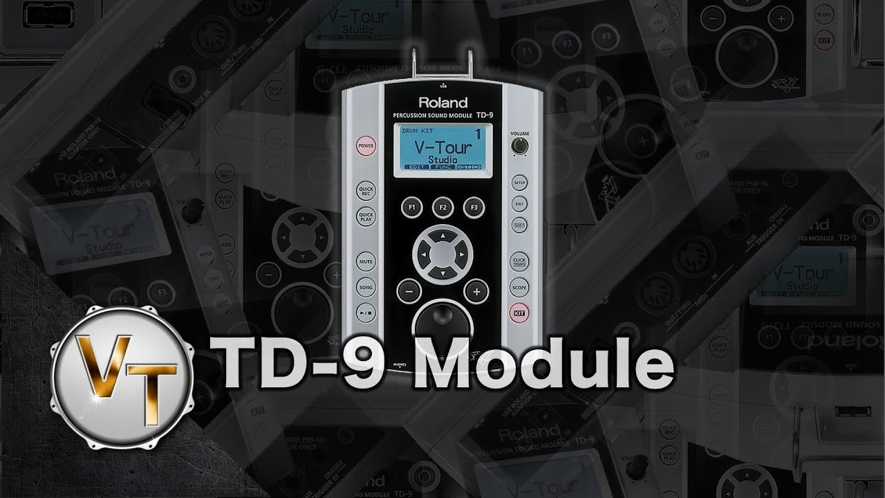 Roland TD-9 - Electronic-drums info